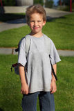 Kindergartner School Boy Stock Photography
