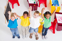 Kindergartners Images stock