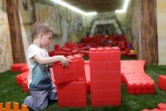 Kindergebäudehaus Lizenzfreies Stockbild