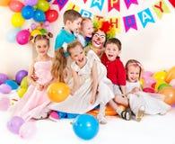 Kindergeburtstagsfeier. Lizenzfreies Stockbild