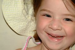 Kinderglückliches Mädchen Lizenzfreie Stockbilder