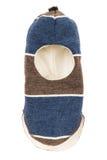 Kinderhut-Sturzhelm einer Loch Ski Mask Lizenzfreies Stockbild