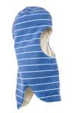 Kinderhut-Sturzhelm einer Loch Ski Mask Lizenzfreies Stockfoto
