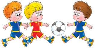 Kinderjaren 004 stock illustratie