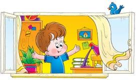 Kinderjaren 006 royalty-vrije illustratie