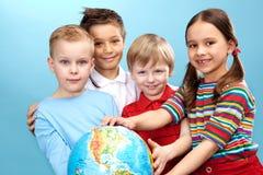 Kinderjaren Royalty-vrije Stock Fotografie