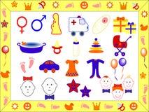 Kinderjaren Royalty-vrije Stock Foto