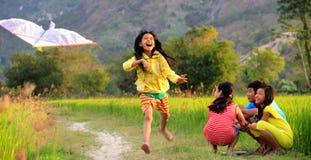 Kinderjaren Stock Fotografie