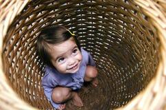 Kinderjaren - Huid - en - zoek Royalty-vrije Stock Foto's