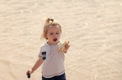 Kinderjaren, onschuld, de jeugd royalty-vrije stock fotografie