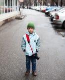 Kinderjarenhartstocht Royalty-vrije Stock Foto's