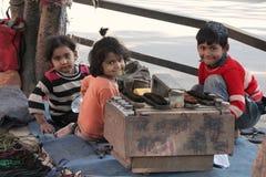 Kinderjarenstemming van kinderen Stock Foto's