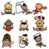 Kinderlernen Stockbild