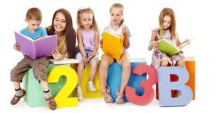 Kinderlesebuch Lizenzfreie Stockbilder