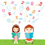 Kinderlesebuch Lizenzfreies Stockbild
