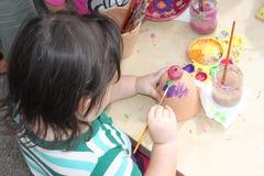 Kindermalerei Lizenzfreies Stockfoto