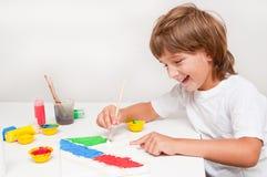 Kindermalerei Stockbild