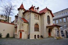 Kindermana别墅的脱离博物馆-市政美术画廊在罗兹 库存图片