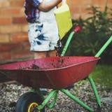 Kindernachkommenschafts-Adoleszenz-Kindertätigkeits-Konzept Stockbilder