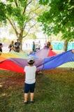 Kindernalia park event stock photo