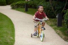 Kinderreitfahrrad Lizenzfreies Stockbild