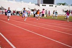 Kinderrennen Lizenzfreie Stockfotografie