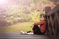Kinderrest stockfoto