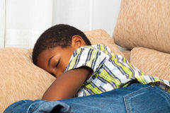Kinderschlafen Lizenzfreie Stockbilder