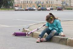 Kinderschmerzen Stockbild
