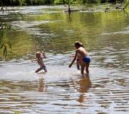 Kinderschwimmen im river_4