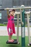Kinderspiele im Park stockbilder