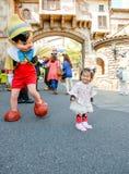 Kinderspielen cosplay Lizenzfreie Stockbilder
