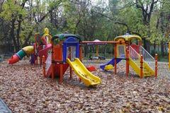 Kinderspielplatz stockbilder
