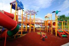 Kinderspielplatz im Freien in Selangor, Malaysia Stockfotos