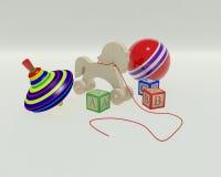 Kinderspielwaren Lizenzfreie Stockfotografie