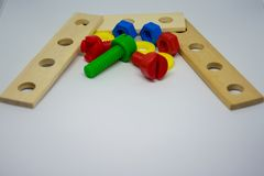 Kinderspielwarenwerkzeuge lizenzfreies stockbild