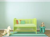 Kindertagesstätteninnenraum Stockbilder