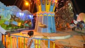 Kindervergnügungspark-Video HD stock video