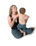 Kinderverzorging Stock Foto