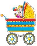 Kinderwagen vector illustratie