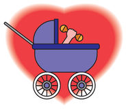 Kinderwagen Stockfoto