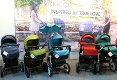 Kinderwagens Venicci Stock Afbeeldingen