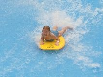 Kinderwasserspiel Lizenzfreie Stockbilder