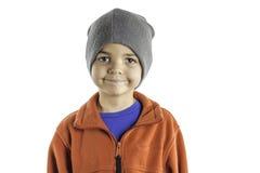 Kinderwinter-Kleidung Stockbild