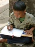 Kinderzeichnen Stockfoto
