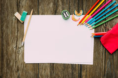 Kinderzeichnung und -kreativität Lizenzfreies Stockfoto
