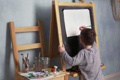 Kinderzeichnungshaus Stockfotografie