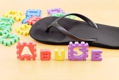 Kindesmissbrauch Stockbild