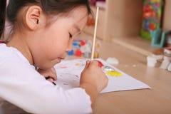 Kindfarbton stockfoto