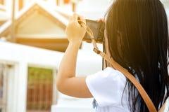 Kindfotograaf, Aziatisch meisje Royalty-vrije Stock Foto